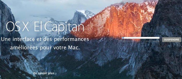 Mettre en pause mise à jour OS Mac