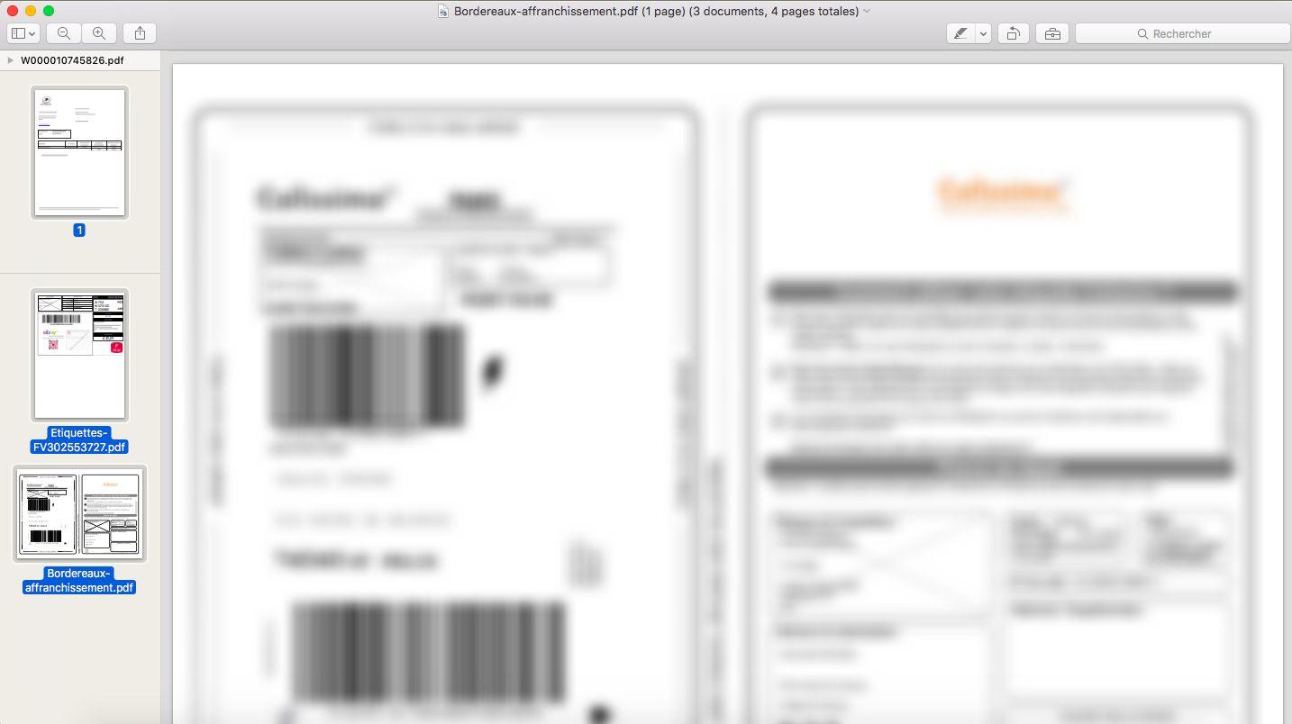 Rassembler plusieurs fichiers PDF - Sélection multiple