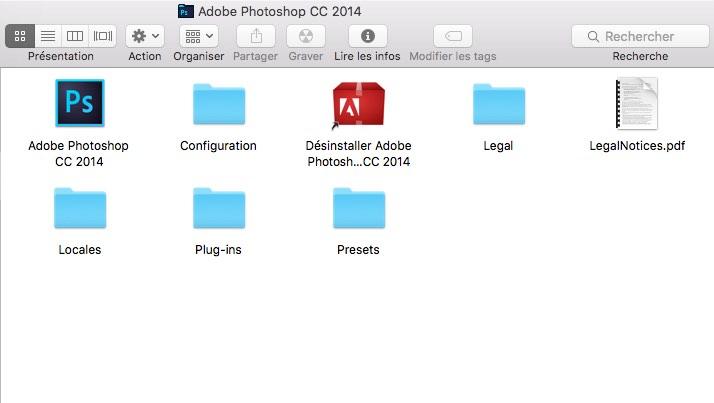 Mettre Photoshop en anglais sur Mac
