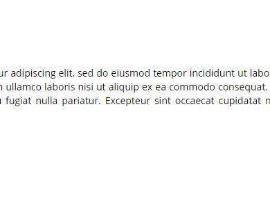 Justifier texte sur Wordpress